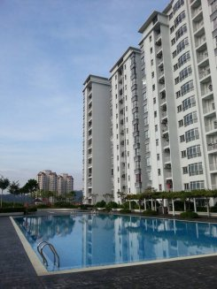 Apartment offered in Kepong Kuala Lumpur Malaysia for RM550 p/m