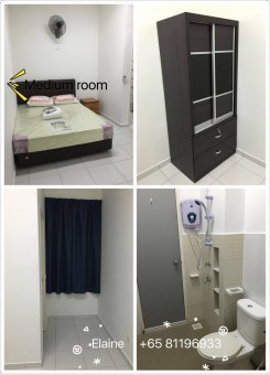 Room offered in Bukit indah Johor Malaysia for RM650 p/m