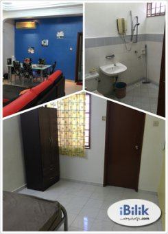 House in Johor Permas jaya for RM550 per month