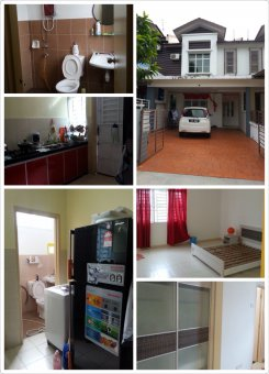 House offered in Taman megah ria Johor Malaysia for RM350 p/m