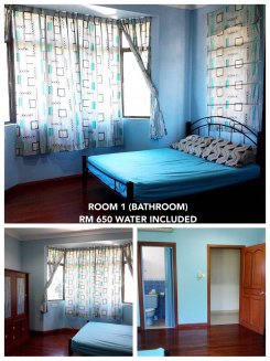 Room offered in Kota kinabalu Sabah Malaysia for RM650 p/m
