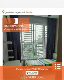 Apartment in Johor 81200 for RM500 per month