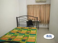 Room offered in Bandar kinrara Selangor Malaysia for RM550 p/m